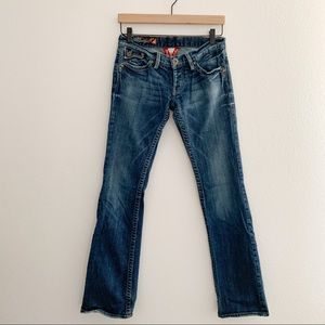 Lucky Brand boot cut low rise jeans